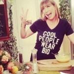 Tessa Gelisio tshirt Made For Change
