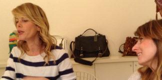 Alessia Marcuzzi Laura Angelilli borse Marks and Angels 3