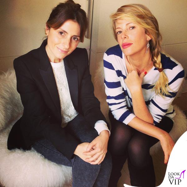 0892410457 Alessia Marcuzzi Laura Angelilli borse Marks and Angels - Look da Vip