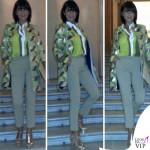 Ana Laura Ribas giacca camicia pantalone BeatriceB 2