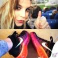 Emma-Marrone-sneakers-Nike-Fliyknit-Air-Max