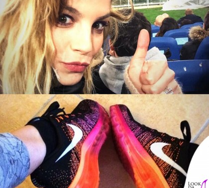 Emma-Marrone-sneakers-Nike-Fliyknit-Air-Max