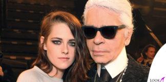 Kristen Stewart Karl Lagerfeld Chanel