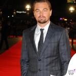 Leonardo DiCaprio Martin ScorseseThe Wolf of Wall Street Londra abiti Giorgio Armani 3
