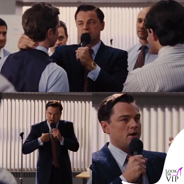 Leonardo DiCaprio The Wolf of Wall Street abiti Giorgio Armani