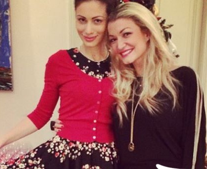 Marica Pellegrinelli abito Dolce&Gabbana