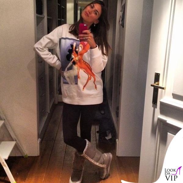 Melissa Satta felpa Givenchy