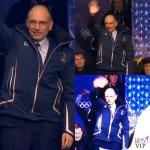 Enrico Letta Olimpiadi Invernali Sochi giaccone EA7 Armani 2