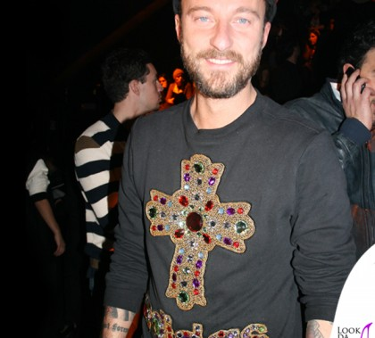 Francesco Facchinetti sfilata Philipp Plein Milano Fashion Week felpa Adidas Jeremy Scott