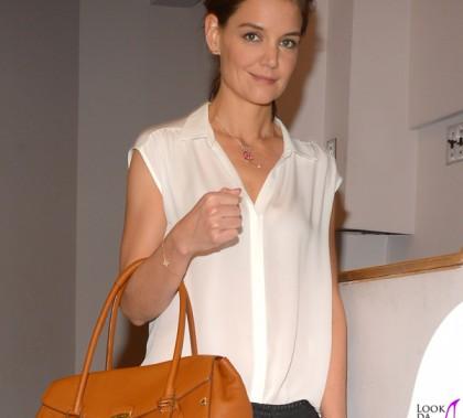 Katie Holmes Rider Bag Trussardi