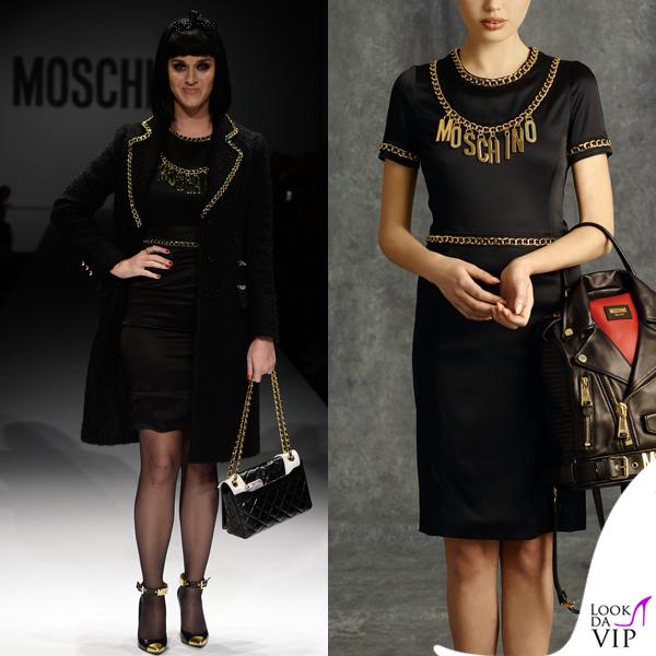 Katy Perry Moschino pre fall 2014 Milano Fashion Week