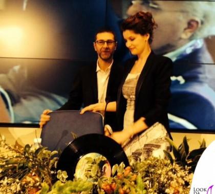 Laetitia Casta Sanremo 2014 abito Dolce&Gabbana