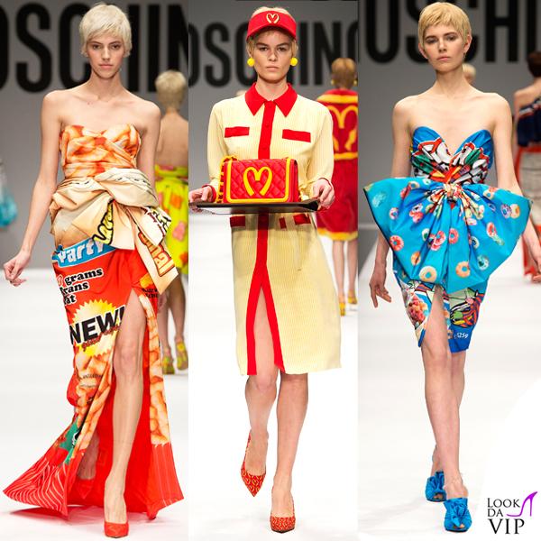 Moschino sfilata Milano Fashion Week