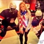 Nastia Liukin Olimpiadi Invernali Sochi piumino Nike 2