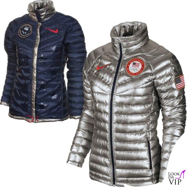 Olimpiadi Invernali Sochi piumino Nike 3
