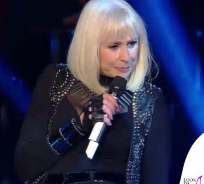 Raffaella Carrà Sanremo 2014 costumi Sabatelli gilet Richmond