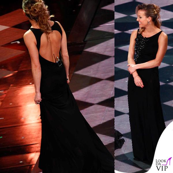 Tania Cagnotto Sanremo 2014 abito Blumarine 4
