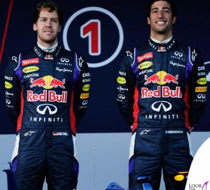Vettel Ricciardo Formula 1 Redbull scarpe Geox