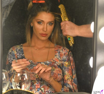 Belen Rodriguez sfilata Imperfect Milano Fashion Week abito Asos styling Cotril