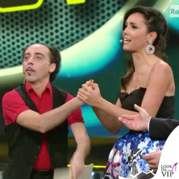 Caterina Balivo gonna Pinko 3