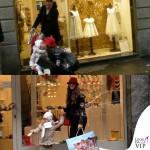 Cristina De Pin chiodo e stivali Mia Bag cappello Borsalino borsa Sicily Dolce&Gabbana 6
