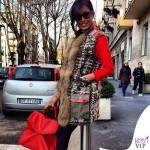 Federica Nargi giacca Bazar Deluxe borsa Mia Bag