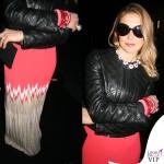 Francesca Senette sfilata John Richmond Milano Fashion Week abito Missoni 4