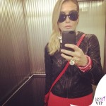 Francesca Senette sfilata John Richmond Milano Fashion Week abito Missoni 6