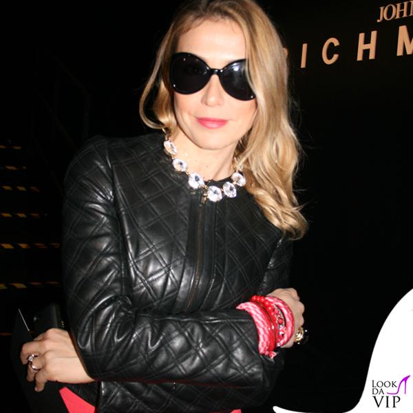 Francesca Senette sfilata John Richmond Milano Fashion Week abito Missoni