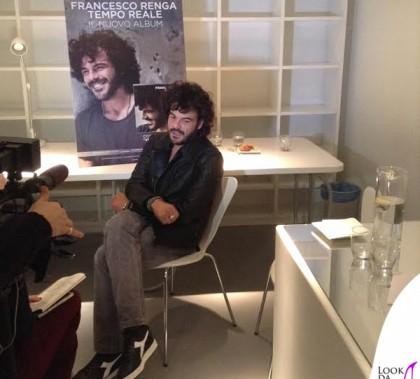 Francesco Renga giacca Roberto Cavalli scarpe Diadora