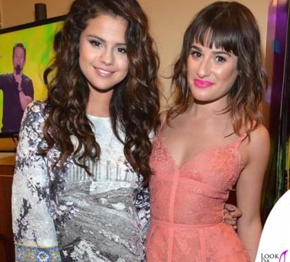 Kids Choice Awards Selena Gomez completo DolceGabbana scarpe Casadei Lea Michele abito Elie Saab scarpe Charlotte Olympia