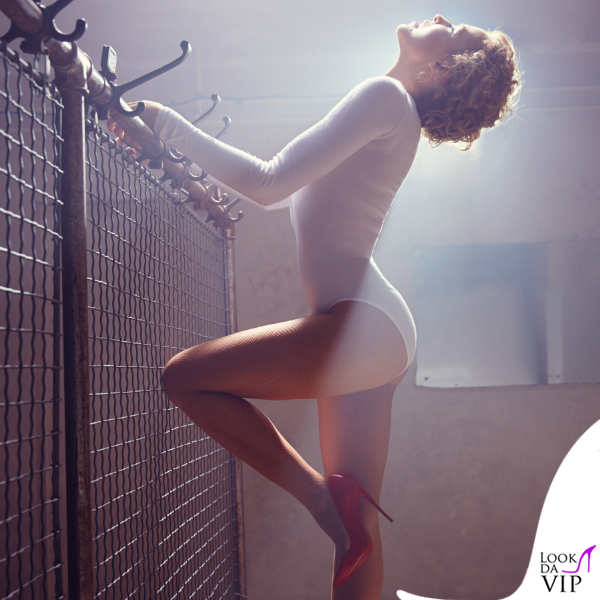 Kylie Minogue Sexersize body collant Wolford