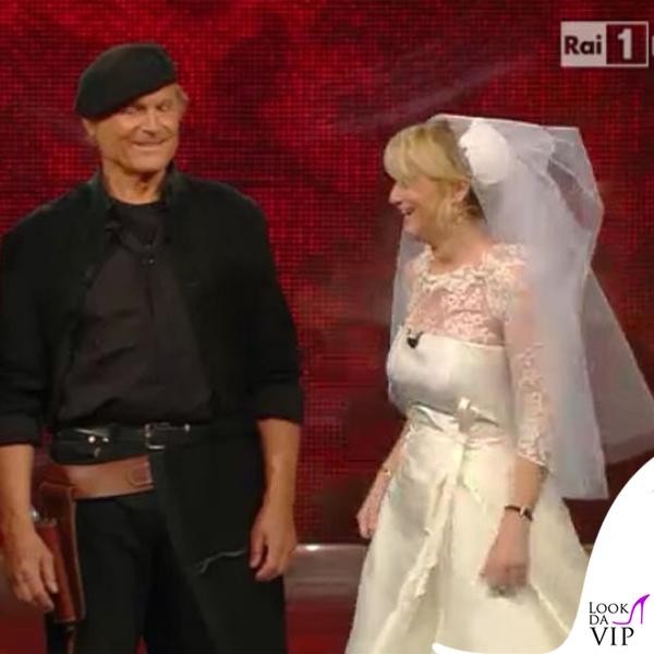 Luciana Littizzetto Sanremo 2014 fascinator Kreisicouture 2