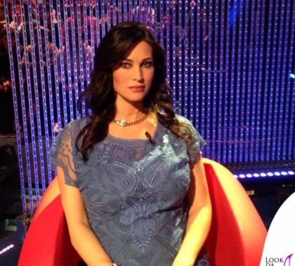 Manuela Arcuri Grande Fratello 13 quarta puntata abito Roberta Scarpa