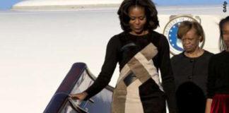 Michelle Obama abito Derek Lam