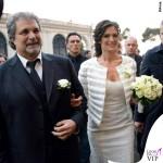 Nozze Bocelli-Berti Veronica Berti total Ermanno Scervino 2