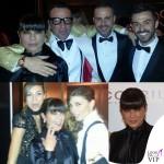 Oscar Party Alessandro Martorana 40 Compleanno Ana Laura Ribas total Carlo Pignatelli Cristina chiabotto abito Byblos