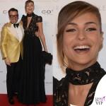 Oscar Party Alessandro Martorana 40 Compleanno Cristina Chiabotto abito Byblos