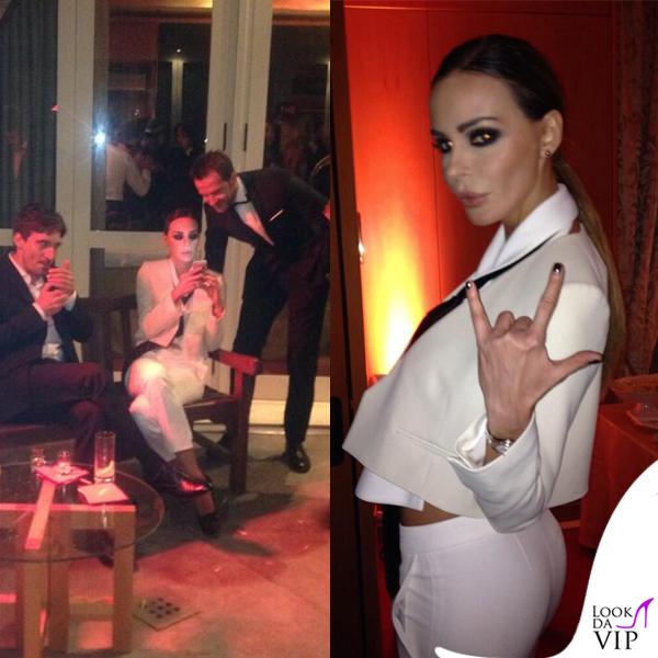 Oscar Party Alessandro Martorana 40 Compleanno Nina Moric