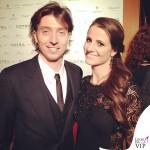 Oscar Party Alessandro Martorana 40 Compleanno Riccardo Montolivo Cristina De Pin abito Roberto Cavalli