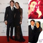 Oscar Party Alessandro Martorana 40 Compleanno Riccardo Montolivo Cristina De Pin abito Roberto Cavalli 2