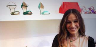 Sarah Jessica Parker abito Valentino scarpe SJP