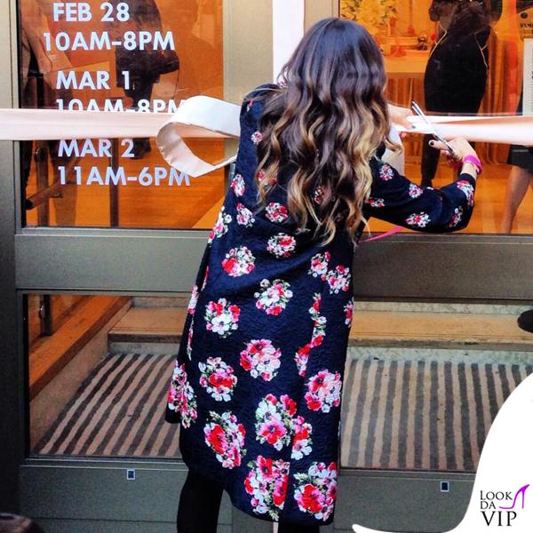 Sarah Jessica Parker cappotto Dolce&Gabbana scarpe SJP