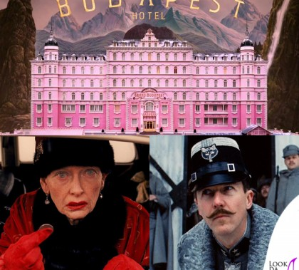 The Grand Budapest Hotel Tilda Swinton Edward Norton pellicce Fendi