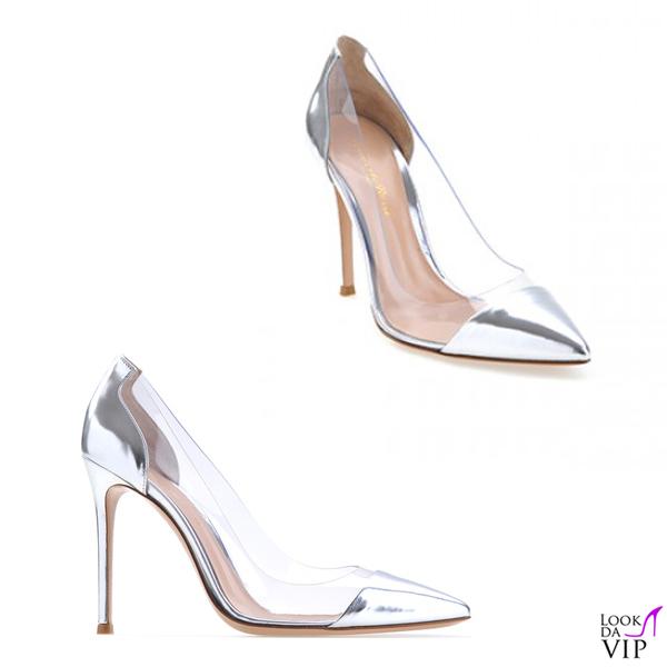 finest selection 88524 637d8 scarpe Gianvito Rossi Plexi pump - Look da Vip