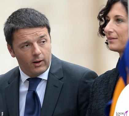 Agnese Landini Renzi cappotto Ermanno Scervino
