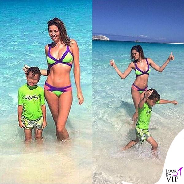 Aida Yespica bikini Agent Provocateur Mazzy