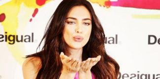 Irina Shayk abito Desigual Ston