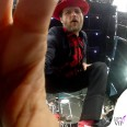 Jovanotti tour giacca CN camicia Prada pantaloni Diesel cappello Borsalino scarpe Valentino