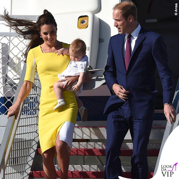 Kate Middleton abito Roksanda Ilincic borsa scarpe LK Bennett orecchini Annoushka collana Mappin Webb 8